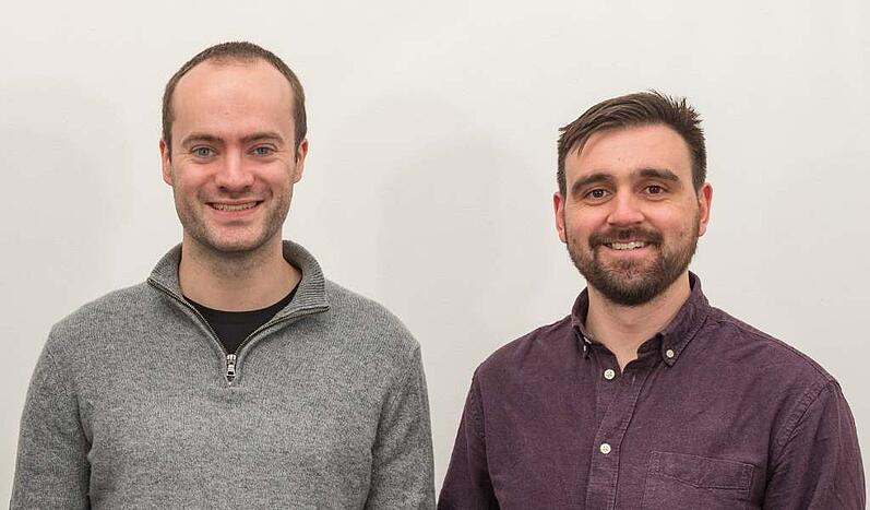 Joint Managing Directors and Co-Founders of techspert.io, Graham Mills (left) and David Holden-White (right).