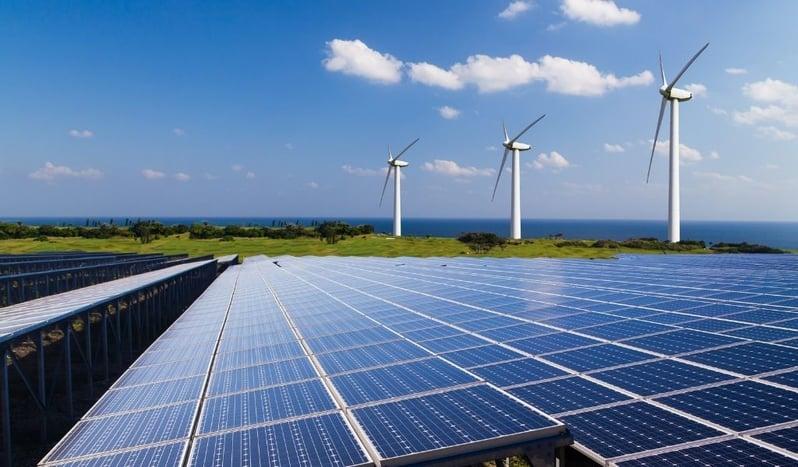 A photo of renewable energy