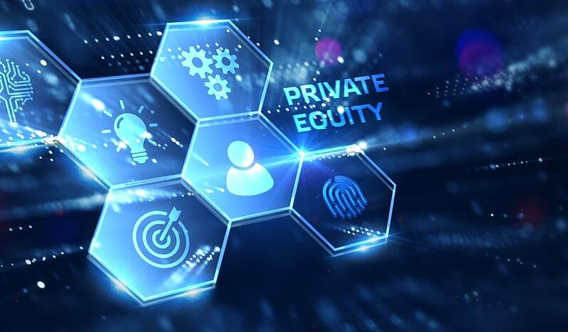An image of a private equity virtual display