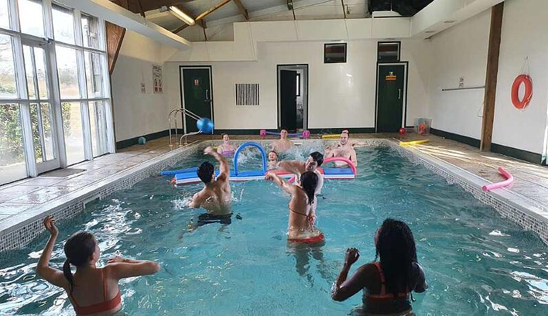 TXP water volleyball