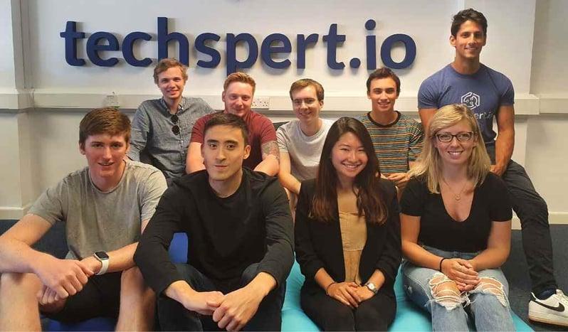 Members of the techspert.io tech team
