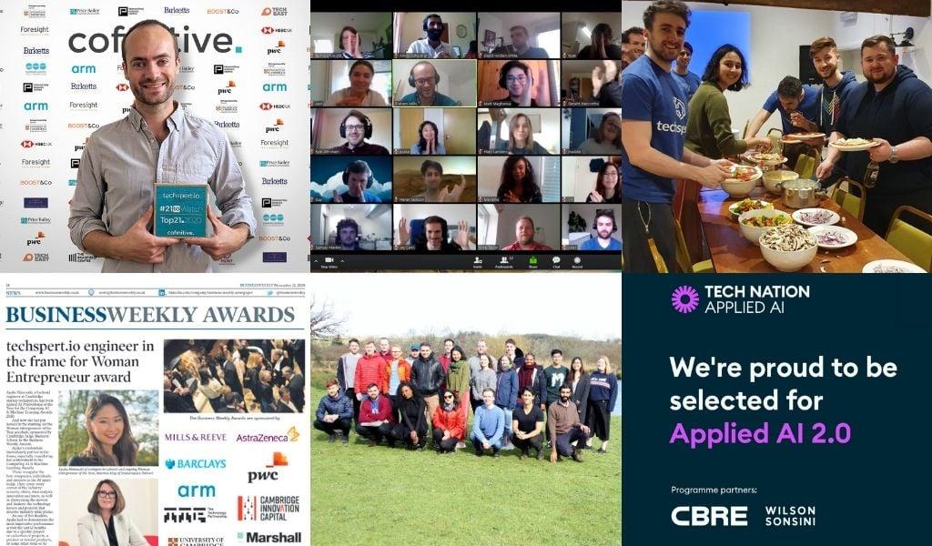 A collage of techspert.io's 2020 highlights